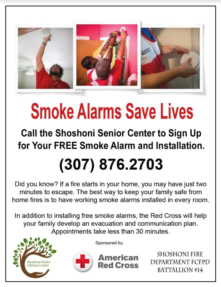 Smoke Alarm Flyer